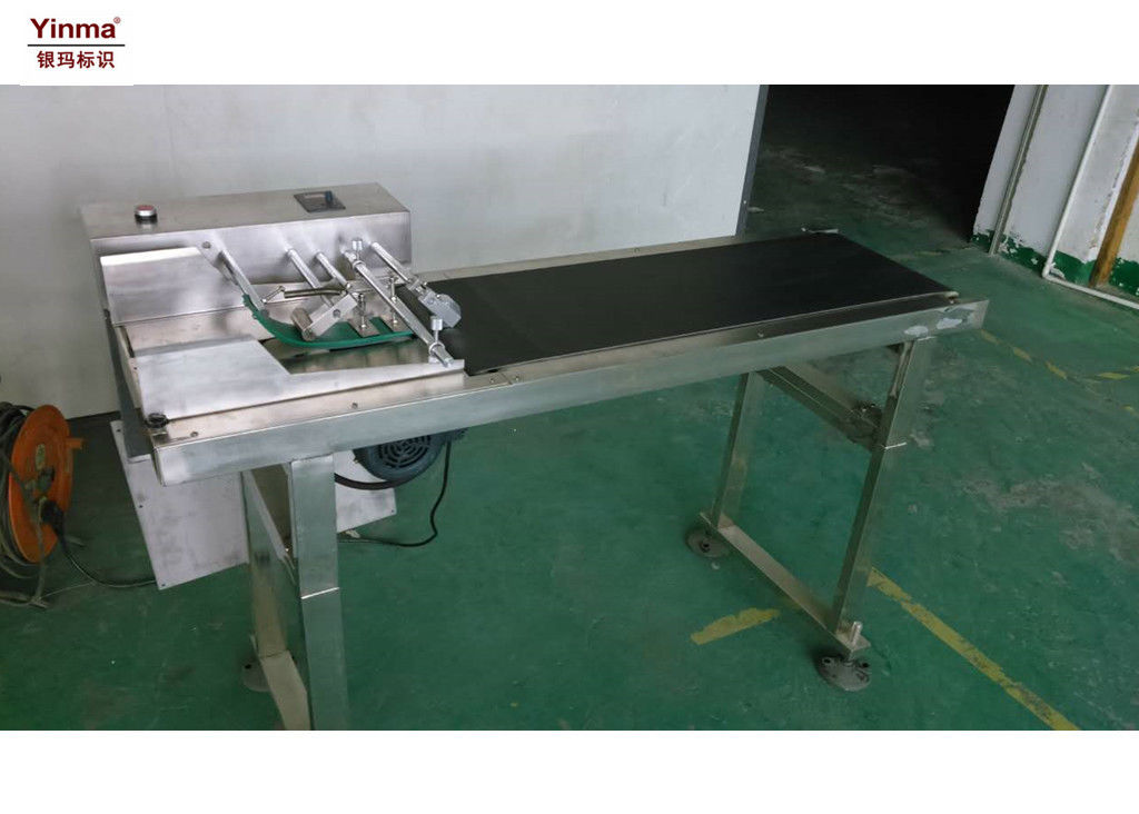 Plastic Bag Labeling Machine , Pagination Machine For Inkjet Printers